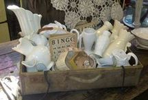 Vintage Decorating in Neutrals / by Michelle Rees