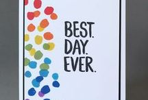 Best Day Ever set ideas