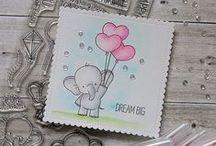 Adorable Elephants (MFT Stamps)