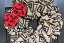 wreaths. / by Marisa Dahlstrom