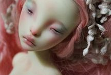 art: dolls, plushies and figurines