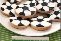 Party Ideas - Soccer / Soccer Party Ideas Hand pinned by our Craftgossip Party Planning Editor.