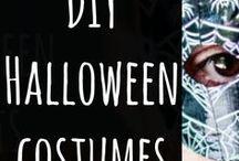 DIY Halloween Costumes / Make your own Halloween costumes with these great Halloween ideas.  #halloween #craft #diy #costumes #quick #ideas