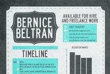 Resume & CV design / Resume & CV design and inspiration
