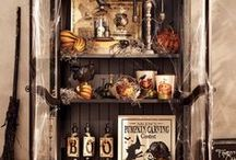 Bubble, Bubble, Toil & Trouble / Halloween decor, Halloween decorations, pumpkins, witches, ghosts, gouls, cauldrons, black cats, spooky scenes, spooky decorations, spiders, spiderwebs, bats, costumes