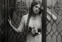 Victorian Hairstyles / Victorian hair, Victorian hairstyles, long hair, braiding, braids, fancy hairstyles, Victorian beauty