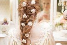 Wedding Hairstyles / Victorian hair, Victorian hairstyles, long hair, braiding, braids, fancy hairstyles, Victorian beauty, wedding hair, wedding hairstyles, long hair for wedding