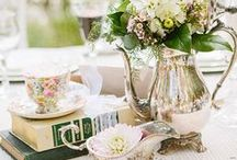 Our Wedding Decor / Victorian wedding, garden wedding, wedding decor, wedding decoration ideas, antique wedding