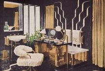 Deco Flair; 1930s+70s redeux , interior design / redoing home with a cool crossover of 1930s and 1970s art deco interior design / by Mish Wish