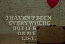 bucket list / things i have to do...someday