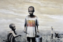 the thing with BANKSY / human rights in pictures