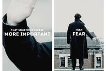 Sherlock / Everything about the famous Sherlock TV show on BBC One  / by Pascal Cadorette
