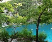 Plitwickie Jeziora - Chorwacja / Jeziora Plitwickie / Chorwacja / Plitwice Lakes National Park / Croatia / Park Narodowy Jezior Plitwickich / Bałkany / wodospady / jeziora / podróże / turystyka / travel / tourist
