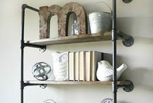 Shelves / by Taryn {Design, Dining + Diapers}