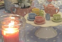 centerpieces & tablescapes / by Judy McMichael