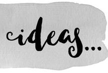Ideas... / Inspiration ideas for new paintings and craft projects!
