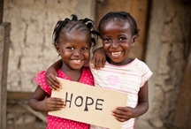Hope for Haiti / Don't forget about the people of Haiti.