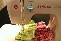 Crafts - The Sewing Room  / Everything I want in my sewing room - A great work station, tutorials - and oodles of fabric, ric rac, ribbons & lace / by Susan S.