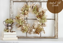 Wreaths / by Taryn {Design, Dining + Diapers}