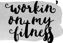 Workin' on my Fitness / I be up in the gym workin' on my fitness! Follow for fitness motivation, tips, ideas and workouts!