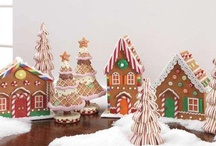 gingerbread houses / by Katrina Rouse