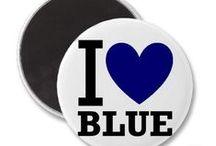 B-blue | כחול / Blue staff i love