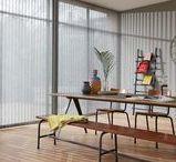 Verticale Jaloezieën / Elegante eenvoud voor grote ramen - Verticale lijnen in het interieur