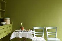Groen  |  Green as grass / groen in je interieur  | green interiors