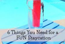 Summer Fun Ideas / Summer is all about having fun! Is your fun meter running low?  Check out some of the things we like to do during summer!