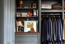 Built-ins, Bookshelves, Closets, Pantries, Bars, Storage and More: Sophia Shibles Interior Design / Stylish and fabulous millwork -- storage for every room in your home.