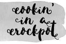 Cookin' in a Crockpot / Yummy looking crockpot recipes that are tried and true! Perfect for busy lives wanting to keep it healthy.