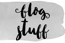Blog Stuff / Inspiration, ideas and tips on making your blog even better!