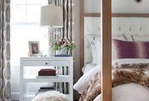 Bedroom Zen - Sophia Shibles Interior Design / Stylish and serene bedrooms, beds, headboards, bedside tables, carpets