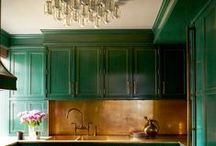 Kitchens and Color: Where, When, How Sophia Shibles Interior Design