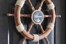 Shore Decor / Beach house DIY decorating ideas to take your space from drab to fab with shore decor.