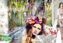 De magie van bloemen / De natuur is al eeuwen lang de belangrijkste inspiratiebron voor ontwerpers en kunstenaars. Met de magische kleuren, vormen en geuren van bloemen in het bijzonder! Maak een wandeling door de Luxaflex® 'tuin' en laat u inspireren door mode, zonwering en de natuur. www.luxaflex.nl