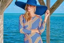 Cover Ups / Go from the beach to the boardwalk in dresses, tunics and cover ups. Hit the beach in style. Gorgeous beach cover-ups in vibrant colors or prints let you take on the sand and sun with fashionable pizzazz.