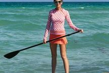 Paddle Boarding / Looking for swimwear that keeps up with you while surfing, yoga, swimming, paddle boarding AND looks cute? Glide on with quotes, pictures, tips and outfits for all your paddle boarding and exercise needs.