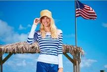 Fourth of July / Have a festive Fourth of July with patriotic outfit, nail and accessory options. If you're entertaining, get ideas for food, drink and desserts.
