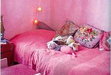 Roze meisjeskamer  | pink girlsroom / Girls love pink!