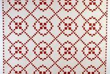 Quilts in twee kleuren