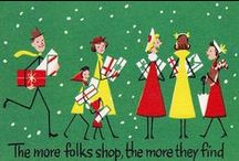 Mad for Mid Century Christmas / Nostalgic vintage Christmas images... / by NeatoKeen Vintage