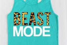 Beast mode style / by Krysta Millarez