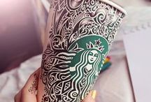 Starbucks Cup Art / Handcrafted art is human and beautiful. It's a gift. To those who share it with us—we thank you.