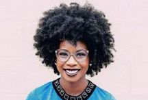 Afros / Afros, 'Fros, Natural Black hair for women with Type 4 (4c) Hair