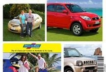 Barbados Car Rentals / Renting a car is an easy process here in Barbados as we have so many car rental companies, each featuring multiple types of vehicles.  / by Totally Barbados