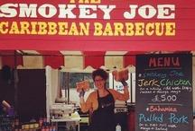 Caribbean BBQ / Some pictures of The Smokey Joe Caribbean BBQ stall out on the road. / by The Smokey Joe Sauce Co.