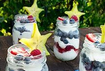 Patriotic Produce / These Red, White & Blue recipes will be a hit for Memorial Day or the Fourth of July gathering!