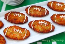 Game Day Recipes / Game Day food doesn't have to leave you feeling sacked. Try these healthy alternatives to your football faves.  / by Produce for Kids