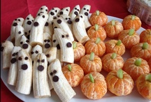 Happy (Healthy) Halloween! / Halloween doesn't have to be filled with scary treats like candy! Try these healthy alternatives this Halloween!